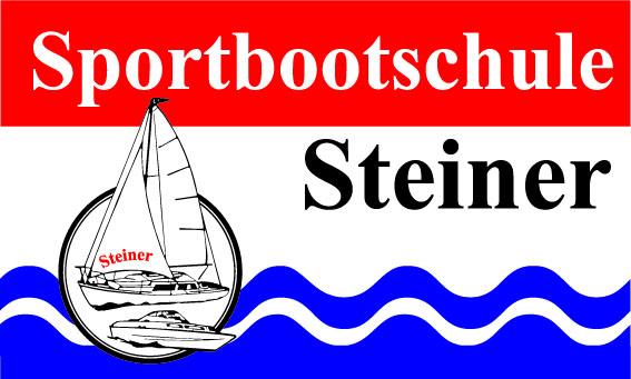 Logo und Fahne Sportbootschule Steiner Winningen an der Mosel