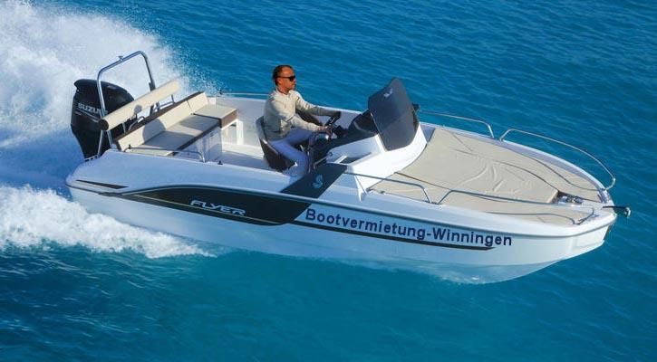 Charterboote - Bootvermietung Winningen Beneteau Flyer 6 mit 200 PS